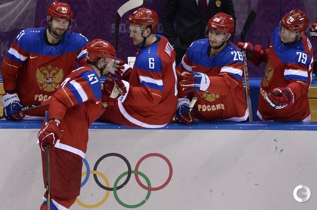 Российские хоккеисты обыграли сборную Норвегии