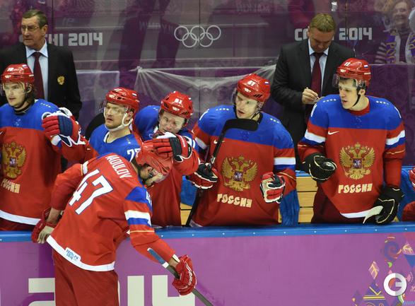 Россия выходит в 1/4 финала