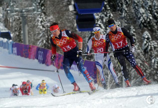 Россия - в финале командного спринта