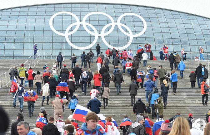 Болельщики перед матчем Россией и Финляндией