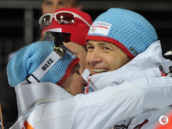 8-кратный олимпийский чемпион Оле Эйнар БЬОРНДАЛЕН .