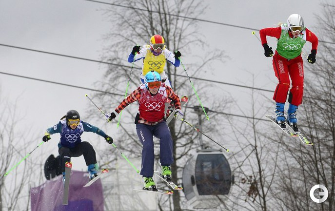 Мариэль Томпсон - олимпийская чемпионка в ски-кроссе. Фото AFP