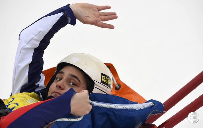 Мариэль Томпсон - олимпийская чемпионка в ски-кроссе. Фото Reuters