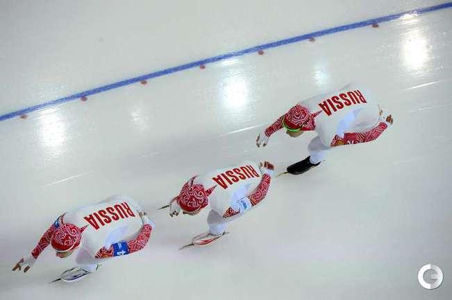 Россиянки вышли в полуфинал командной гонки преследования