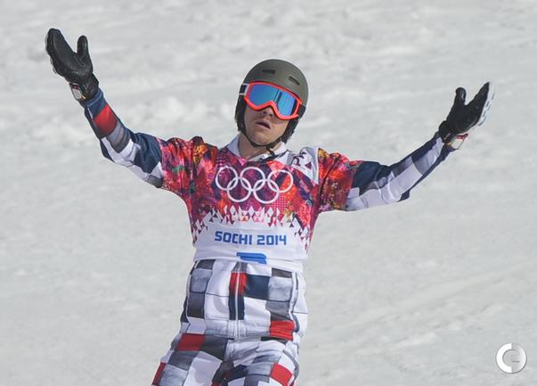 Россиянин Вик Уайлд завоевал золото Олимпиады в Сочи в параллельном слаломе. Фото