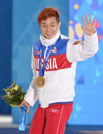Виктор Ан - олимпийский чемпион на 500м. AFP.