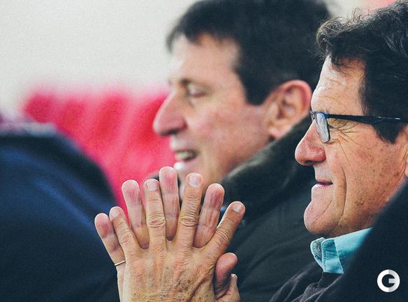 Фабио Капелло наблюдал за матчем Италия - Россия
