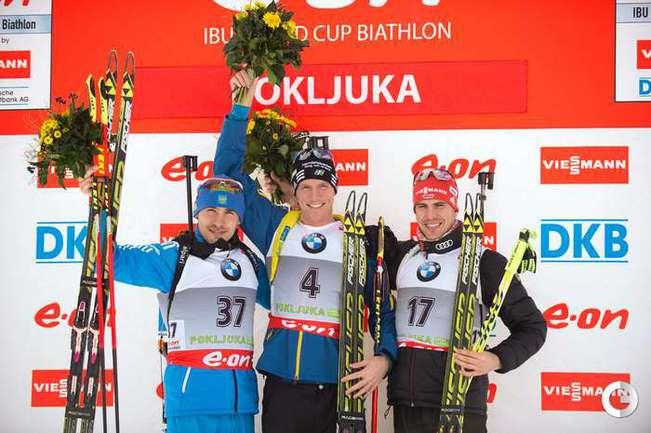 Слева направо: Антон ШИПУЛИН, Бьорн ФЕРРИ и Арнд ПАЙФФЕР.