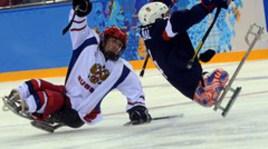 Сборная России обыграла США в следж-хоккей на турнире в Сочи