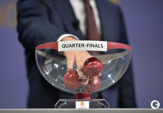 Жеребьевка четвертьфиналов в еврокубках