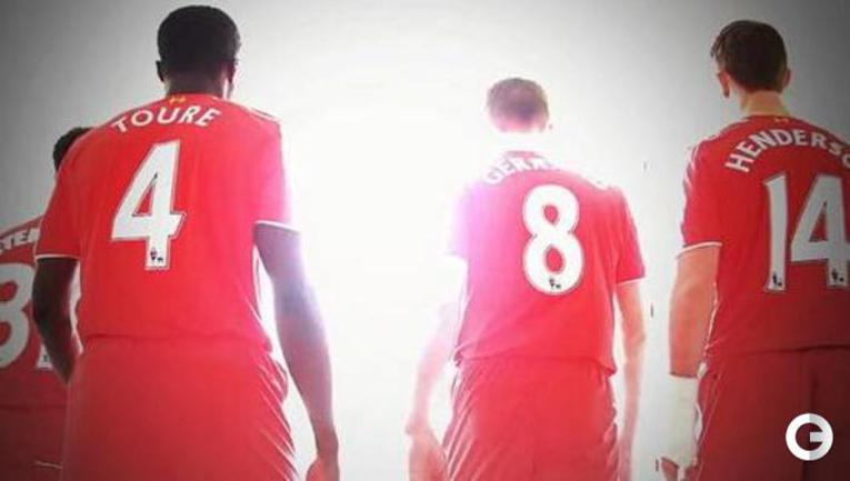 Ливерпуль представил футболки для нового сезона