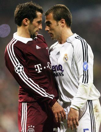 20 февраля 2007. Хасан Салихамиджич и Фабио Каннаваро.