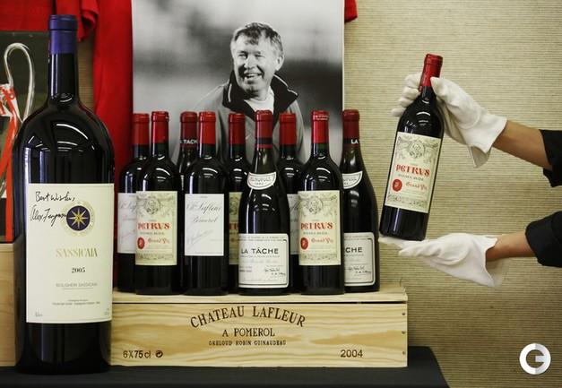 5000 бутылок вина из коллекции Фергюсона выставлены на аукцион