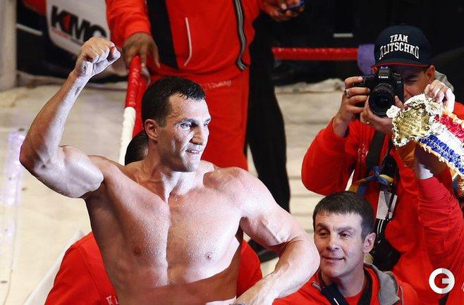 Владимир Кличко: первый бой после победы над Поветкиным
