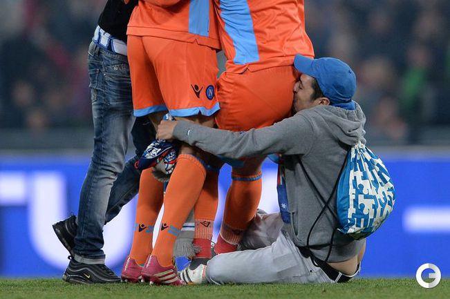 Беспорядки чуть было не сорвали финал Кубка Италии