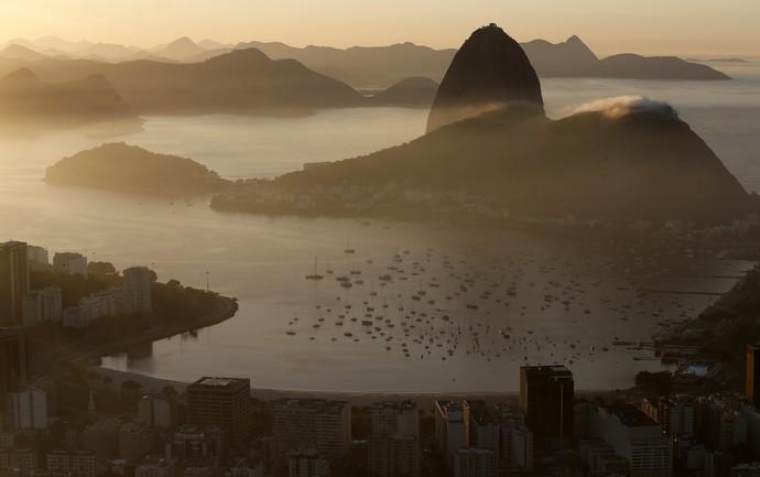 Красочные закаты в Рио за пять недель до старта ЧМ-2014