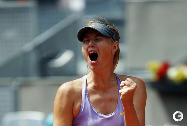 Шарапова вышла в финал турнира в Мадриде