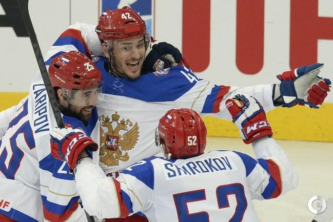 Россия всухую обыграла Францию в четвертьфинале ЧМ