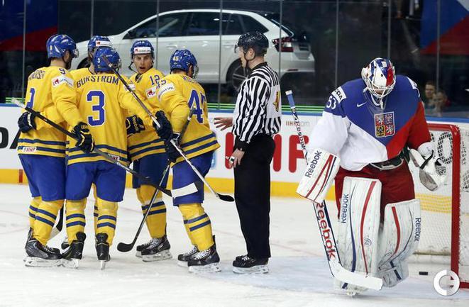Шведы стали третьими на ЧМ-2014