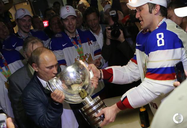Что творилось в чемпионской раздевалке сборной России по хоккею