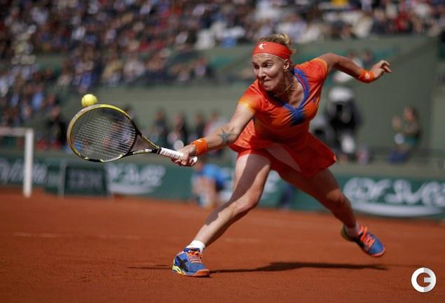 Кузнецова уступила Халеп в четвертьфинале Roland Garros