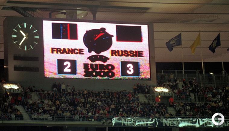 Тот самый матч: 15 лет назад - Франция - Россия - 2:3