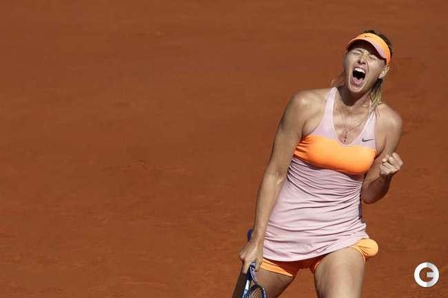Шарапова - третий раз подряд в финале Roland Garros