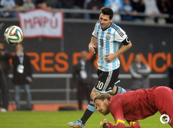 Месси забил за Аргентину в товарищеском матче