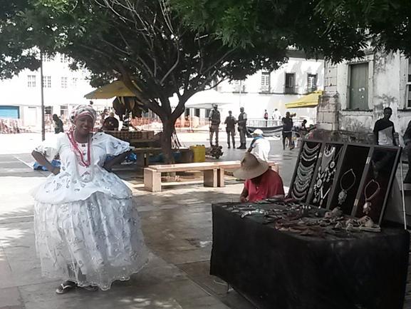 Сан-Салвадор-да-Баия-ди-Тодуш-уш-Сантуш - столица штата Баия