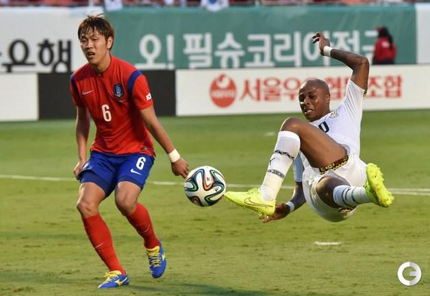Сборная Кореи крупно уступила Гане