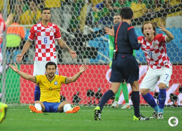 Скандальный пенальти, или Бразилия - Хорватия - 3:1