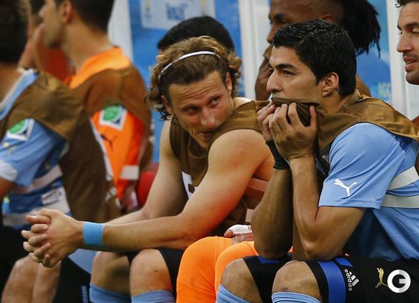 Уругвай без Луиса Суареса уступил Коста-Рике