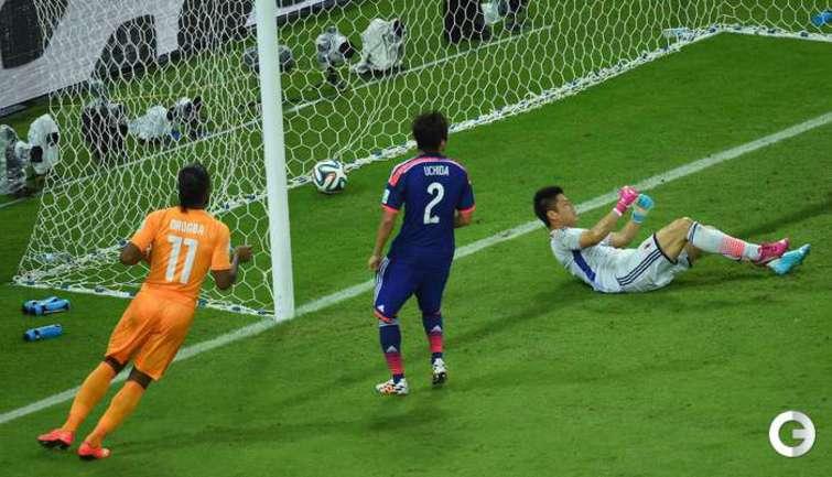 Кот-д'Ивуар обыграл Японию