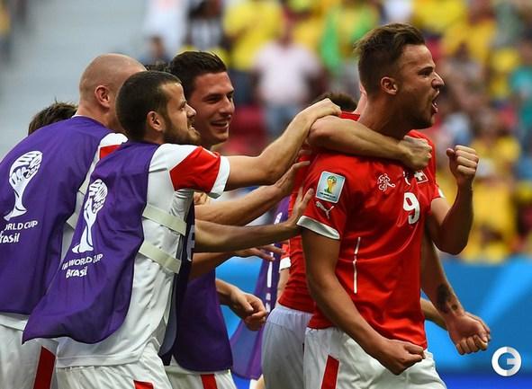 Швейцария одержала волевую победу над Эквадором