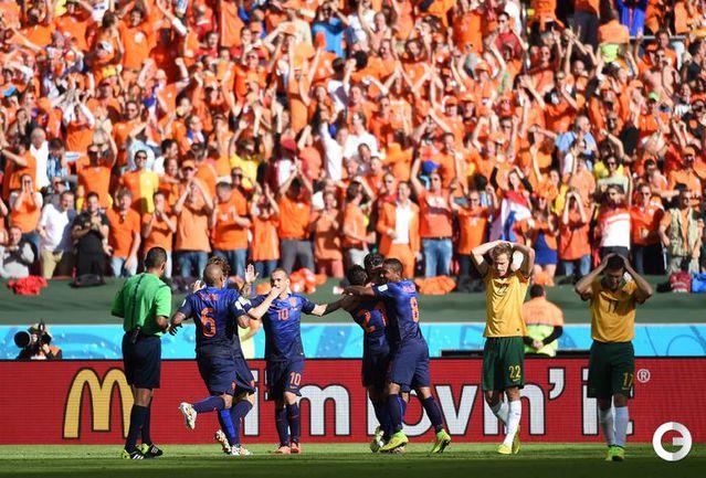 Голландия победила Австралию
