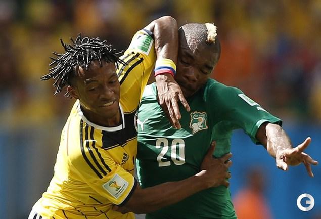 Дрогба не помог сборной Кот-д'Ивуара переиграть Колумбию