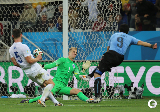 Уругвай одержал победу в матче с Англией