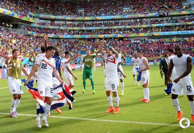 Коста-Рика - в плей-офф чемпионата мира