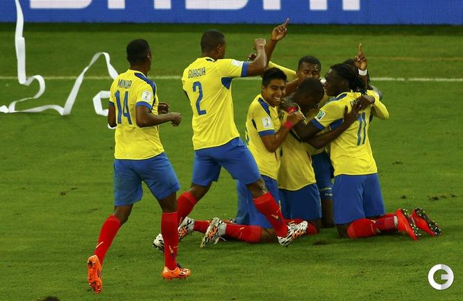 Волевая победа Эквадора над сборной Гондураса