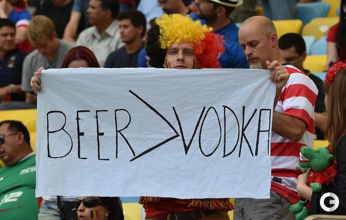 Бельгийское пиво оказалось крепче русской водки