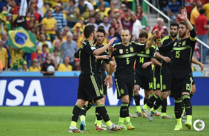 Испания разгромила Австралию