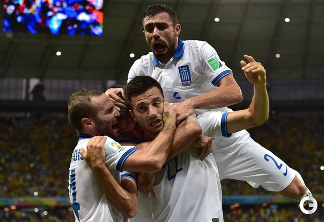 Сборная Греции — в плей-офф чемпионата мира