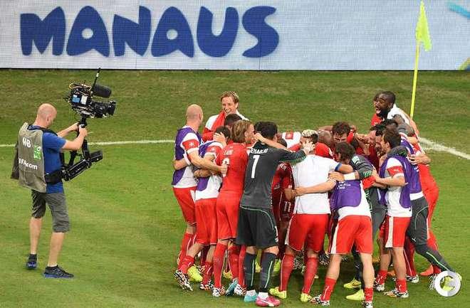 Швейцария разгромила сборную Гондураса