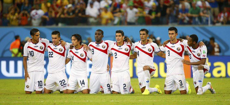 Сборная Коста-Рики обыграла команду Греции