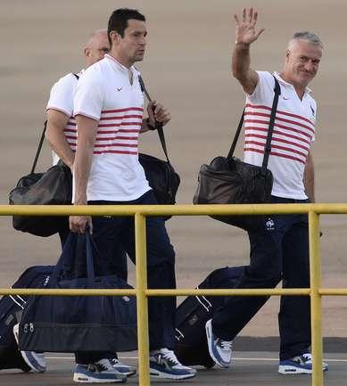 Сборная Франции приземлилась в Рио-де-Жанейро