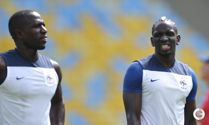 Французы готовятся к матчу с Германией
