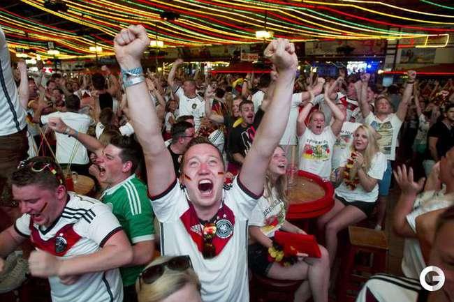 Радость немцев