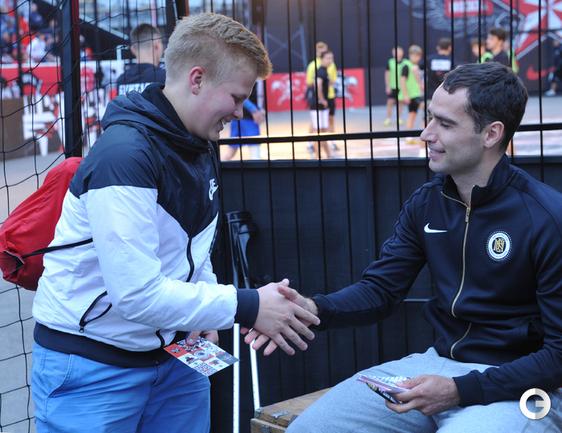Роман Широков посетил футбольный турнир