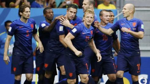 Голландия оставила Бразилию без медалей ЧМ-2014