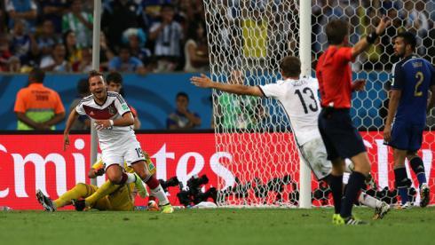 Гол Гетце принес Германии титул чемпионов мира